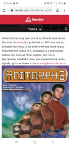 The second screenshot of the article promoting book piracy.
