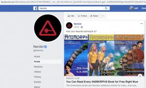 A Nerdist Facebook post to article